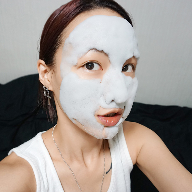 Chia sẻ cách làm đẹp da với mặt nạ sủi bọt ngộ nghĩnh bạn gái không nên bỏ qua