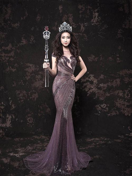 Khó rời mắt khỏi vẻ đẹp yêu kiều đầy ngọt ngào của hoa hậu mỹ linh