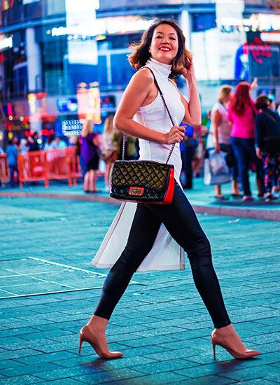 Ngắm street style ấn tượng của á hậu chung vũ thanh uyên