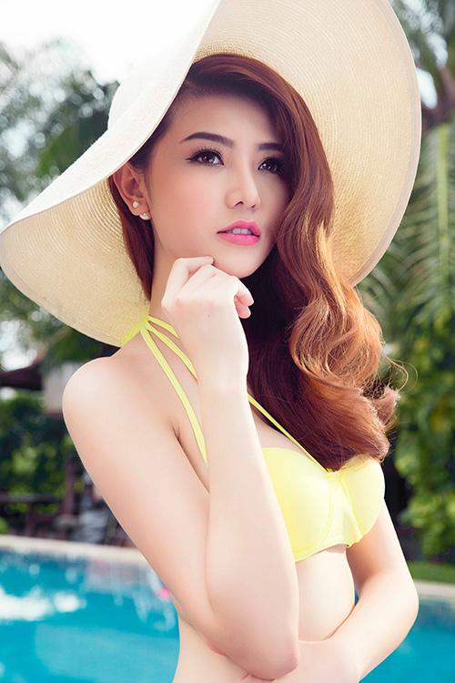 bỏng mắt ngắm ảnh bikini của giải đồng siêu mẫu 2015