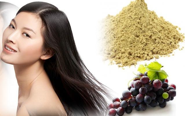 4 công thức dễ ợt nuôi dưỡng tóc dày mượt