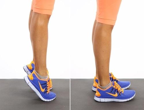 Bắp chân to đến mấy cũng thon gọn nếu áp dụng 4 bước sau