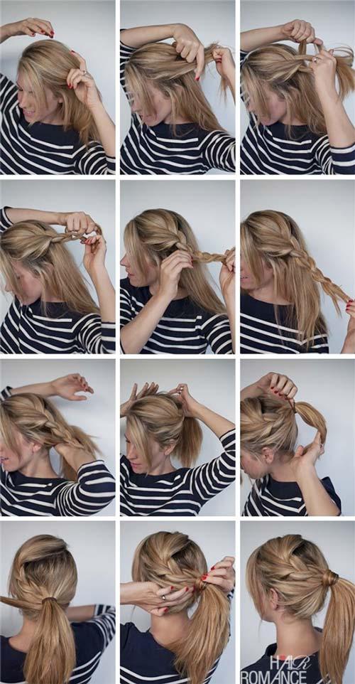 10 kiểu tóc thắt bím cực đẹp phối với đồ mùa đông cực yêu cho phái nữ