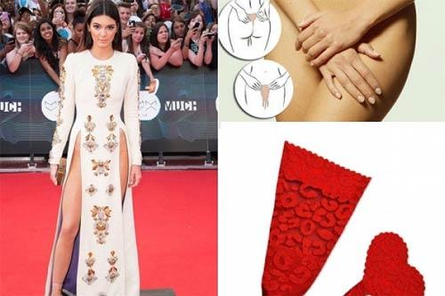 Hé lộ món đồ lót thần thánh cho chiếc váy xẻ hiểm hóc giống của thủy tiên