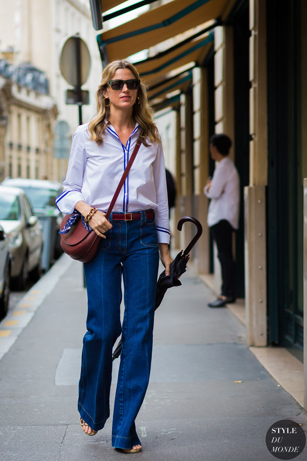Mặc quần jeans cũ vẫn đẹp vẫn tôn dáng
