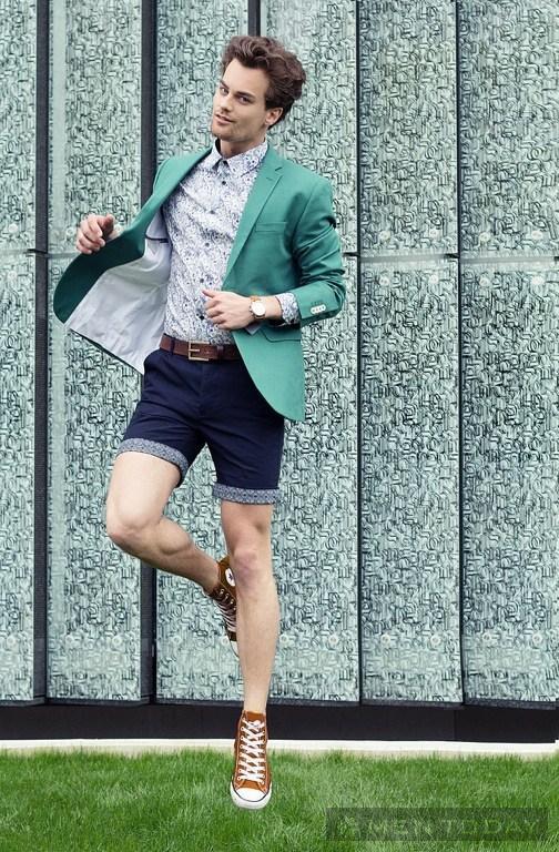 Trang phục hè cho chàng trai công sở bận rộn