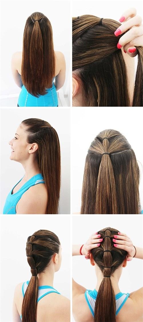 Mách bạn gái 15 cách tạo kiểu tóc đẹp và cực dễ làm