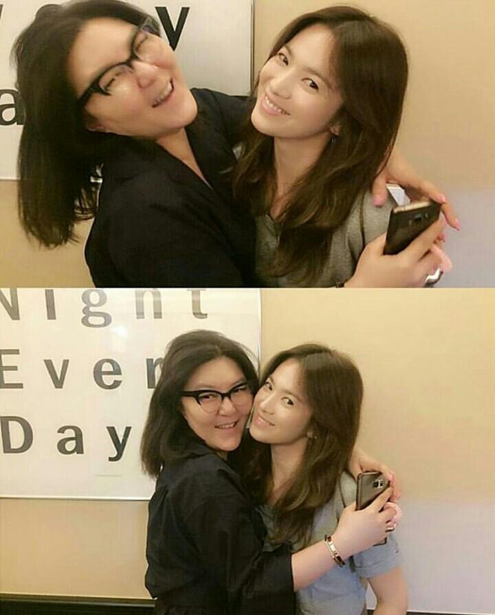 Song hye kyo mặt mộc lúc nào cũng đẹp như thế này