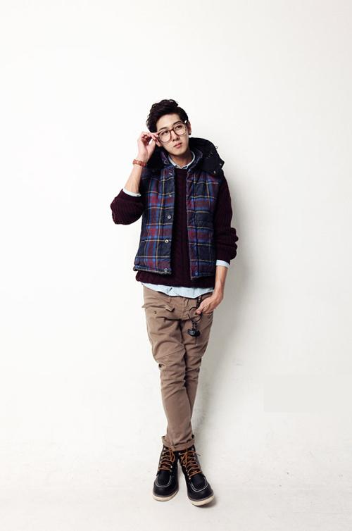 Áo khoác phao gile nam đẹp cho chàng phong cách