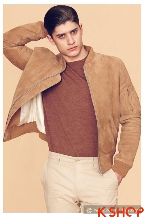 Bộ sưu tập áo khoác da lông nam từ thương hiệu louis w
