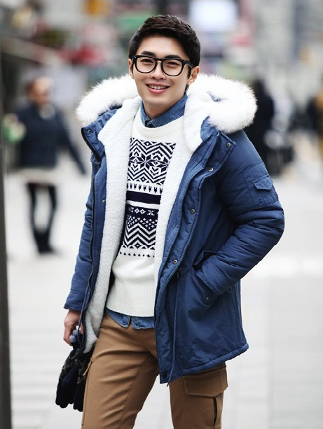 Kiểu áo khoác nam đang gây sốt cực đẹp