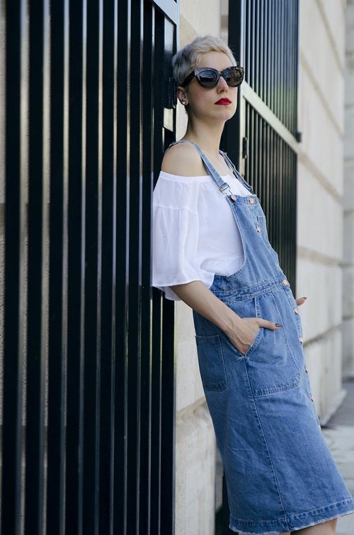 Cách mặc đẹp khó cưỡng với áo hở vai