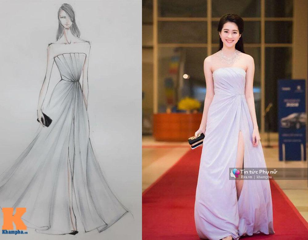 Chiếc váy hot nhất của ngọc trinh thu thảo chi pu