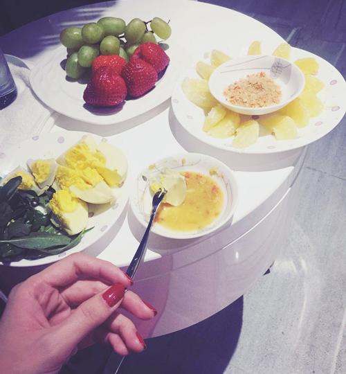 Ngọc trinh đã siết chặt chế độ ăn uống giữ dáng bằng cách này