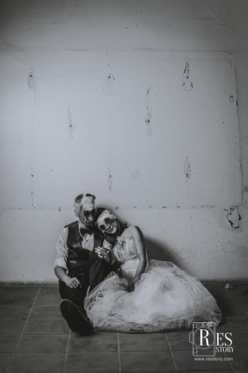 Những bộ ảnh cưới khiến cộng đồng mạng choáng váng