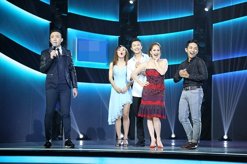 Trấn thành tức khí gọi hari won lên sân khấu